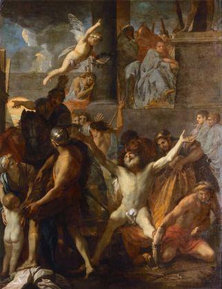 Charles le Brun - Martelaarschap van Sint Andreas