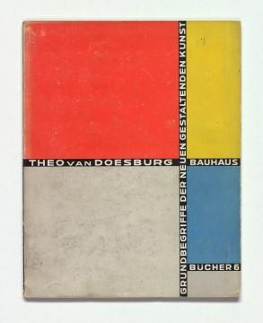 Theo van Doesburg - Bauhaus boek