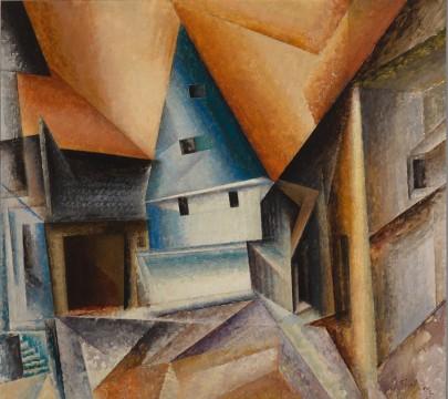 Lyonel Feininger - Ober-Weimar
