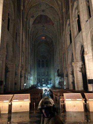 Interieur Notre Dame - Bron: LP/Arnaud Journois