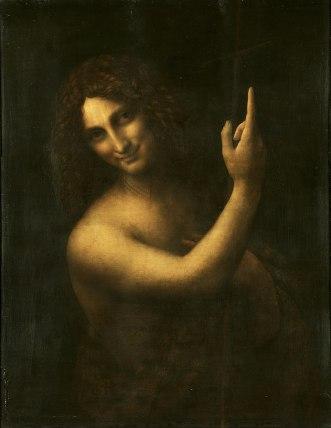 Leonardo da Vinci - Johannes de Doper