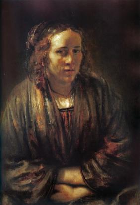 Rembrandt van Rijn - Hendrickje Stoffels