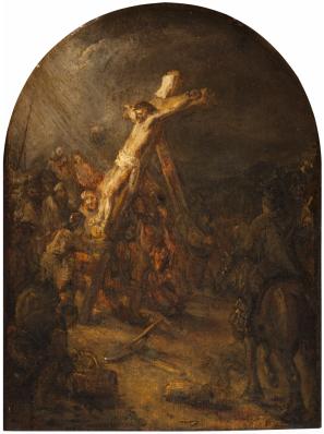 Volger van Rembrandt - Kruisiging van Jezus