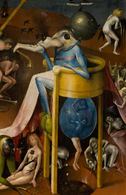 Hieronymus Bosch - de Tuin der Lusten (detail)