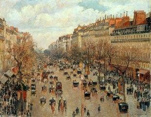 Camille Pissarro - Boulevard Montmartre