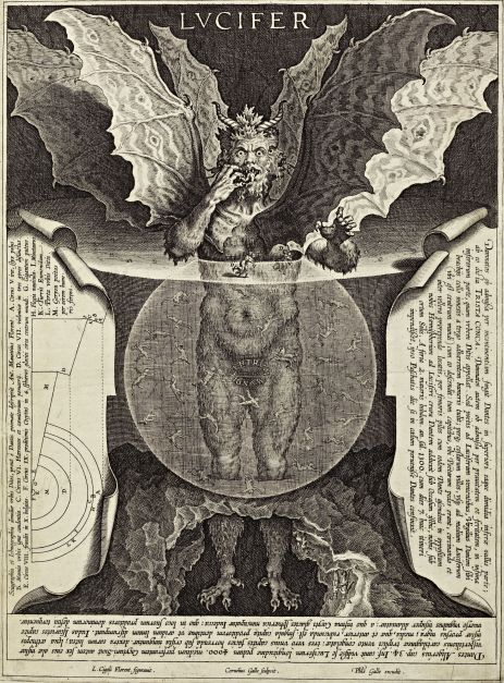 Cornelis Galle - Lucifer