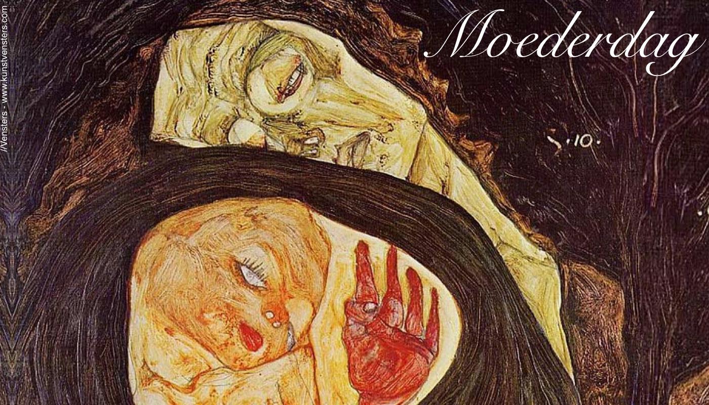 Spiksplinternieuw Egon Schiele en zijn Moeder – Liefde en Onbegrip – //Vensters EI-56
