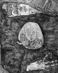 Egon Schiele - Dode Moeder II