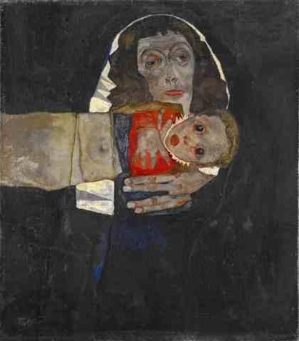 Fonkelnieuw Egon Schiele en zijn Moeder – Liefde en Onbegrip – //Vensters ZU-38