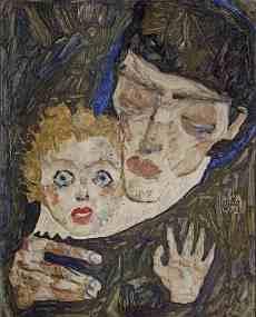 Egon Schiele - Moeder en Kind II