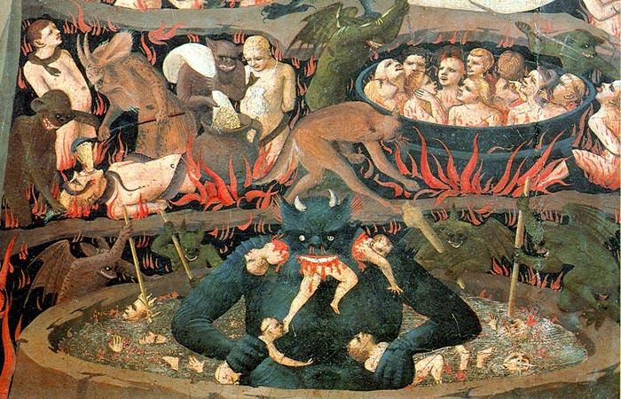 Fra Angelico - het Laatste Oordeel (detail)