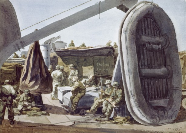 Mitchell Jamieson - Voorbereidingen op D-Day