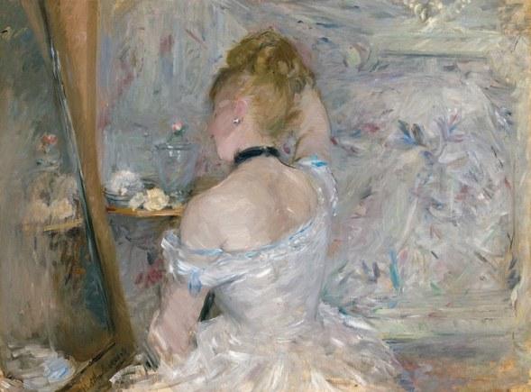 Berthe Morisot - Femme à sa Toilette