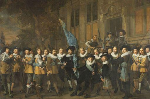 Nicolaes Pickenoy - Het vendel van kapitein Jan Claesz. Vlooswijck en luitenant Gerrit Hudde