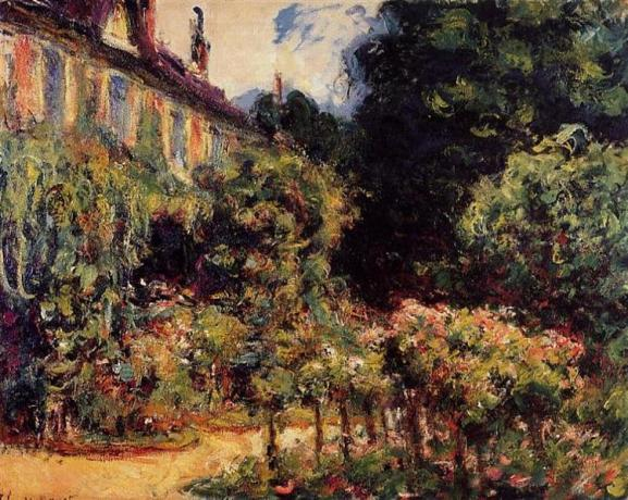 Claude Monet - Monet's Huis in Giverny