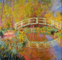 Claude Monet - de Japanse Brug (1894)