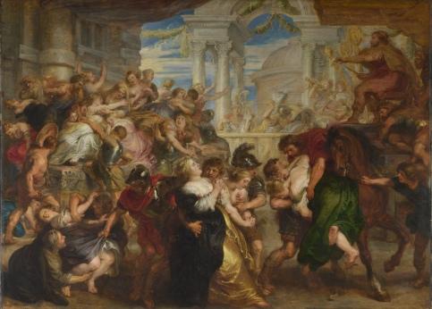 Peter Paul Rubens - de Sabijnse Maagdenroof