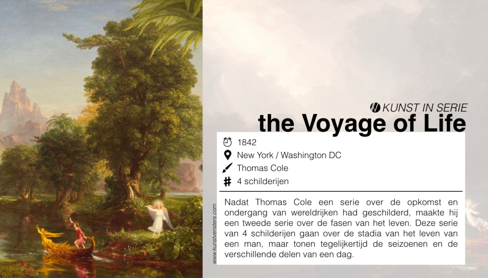 Thomas Cole - The Voyage of Life