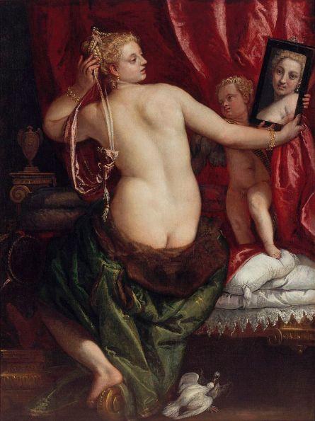 Paolo Veronese - Venus met een Spiegel
