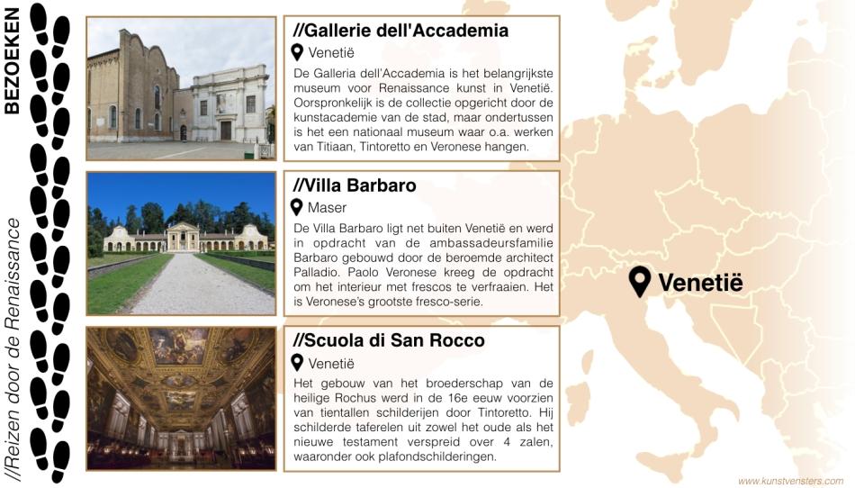 Reizen door de Renaissance - Venetie