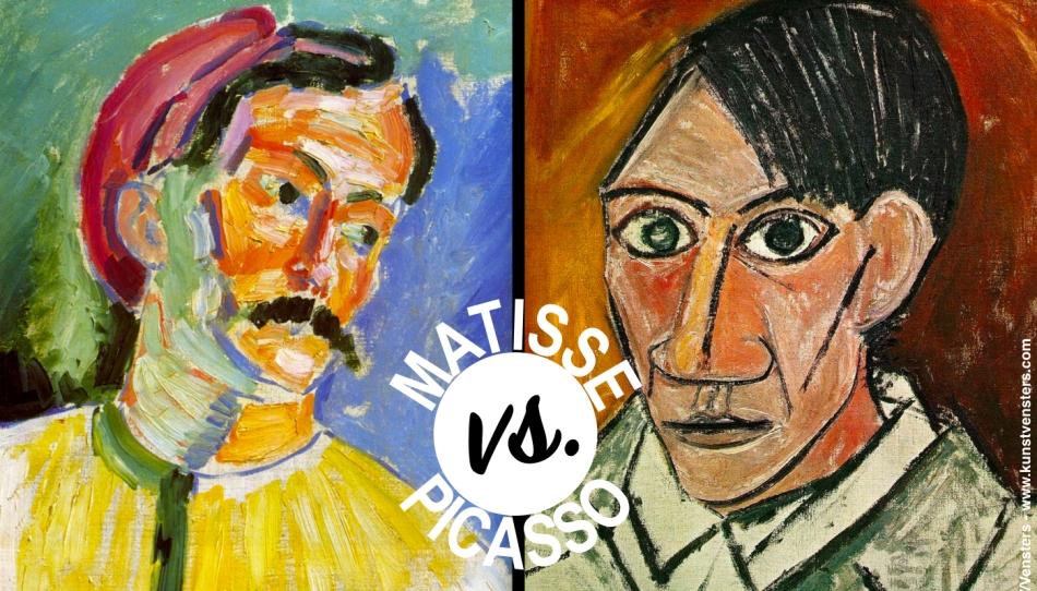 Hedendaags Matisse vs. Picasso: Schilderijen Ruilen uit Rivaliteit – //Vensters UI-21