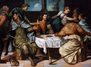 Jacopo Tintoretto - Emmausmaaltijd
