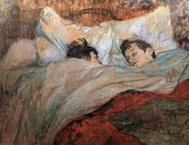 Henri de Toulouse Lautrec - In bed