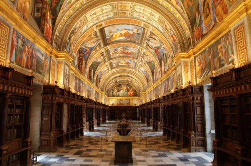 Bibliotheek in El Escorial