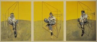Francis Bacon - Drie Schetsen van Lucian Freud