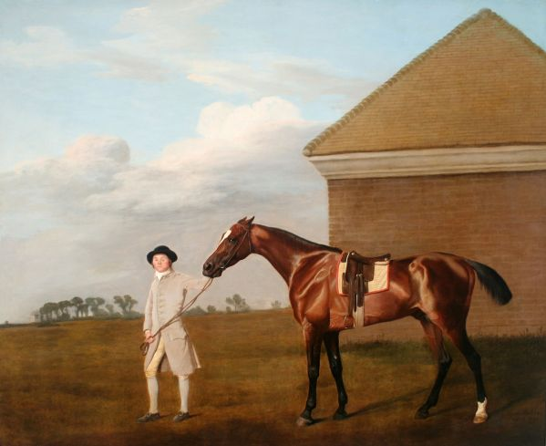 George Stubbs - Firetail with his Trainer