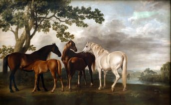 George Stubbs - Mares and Foals