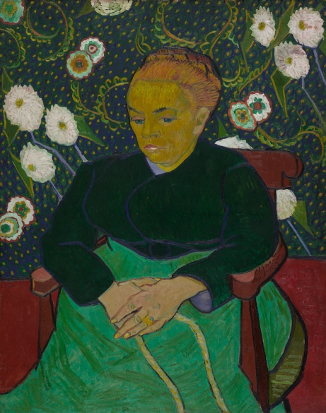 Vincent van Gogh - Madame Roulin, wiegend (La berceuse) 1889, The Art Institute of Chicago, Helen Birch Bartlett Memorial Collection