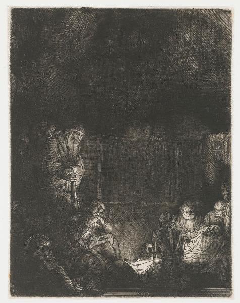 Rembrandt van Rijn - Begrafenis van Jezus