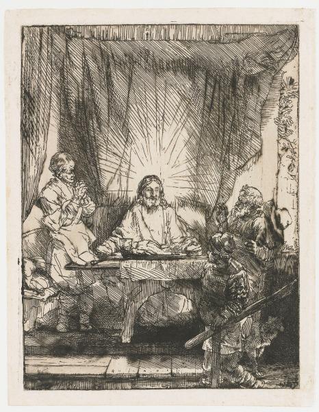 Rembrandt van Rijn - Emmausmaaltijd