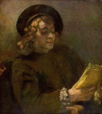 Rembrandt van Rijn - Lezende Titus