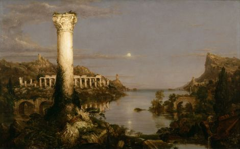 Thomas Cole - 5. Desolation