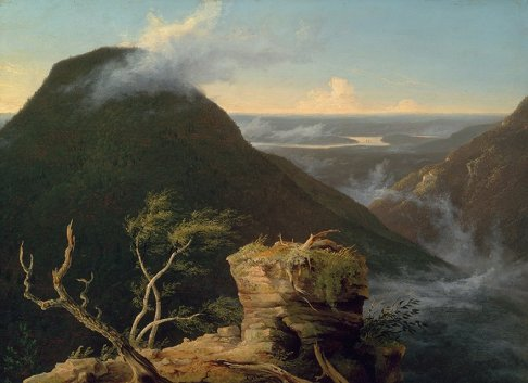 Thomas Cole - View of the Round-Top in the Catskill Mountains