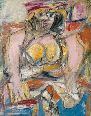 Willem de Kooning - Woman IV
