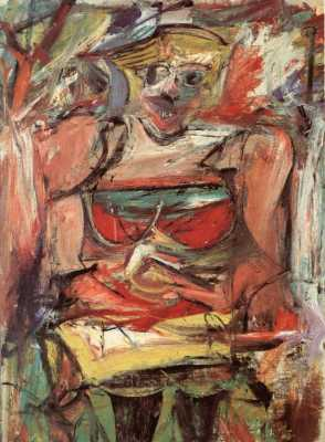 Willem de Kooning - Woman V