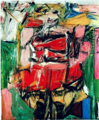 Willem de Kooning - Woman VI