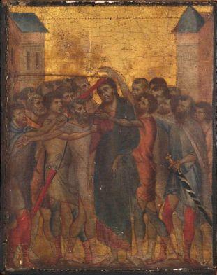 Cimabue - Jezus beschimpt