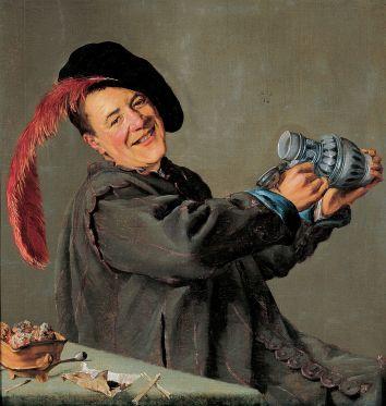 Judith Leyster - de Vrolijke Drinker