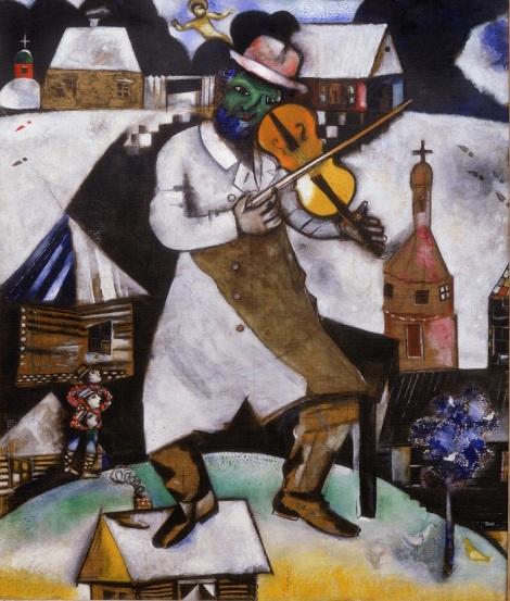 Marc Chagall - de Violist