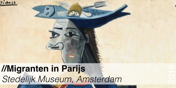 Migranten in Parijs - Stedelijk Museum - Chagall, Mondriaan, Picasso