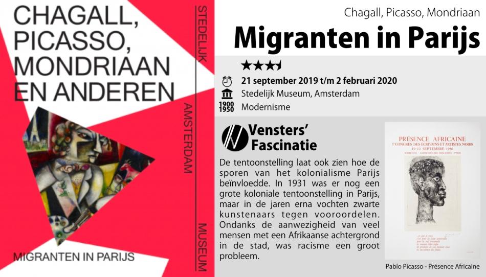 Stedelijk Amsterdam - Migranten in parijs