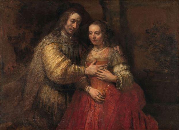 Rembrandt van Rijn - het Joodse Bruidje