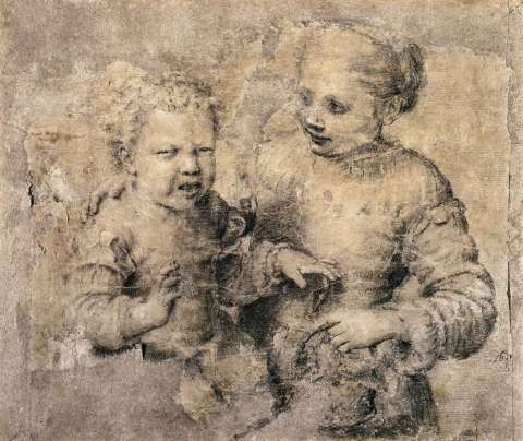 Sofonisba Anguissola - Huilend jongetje