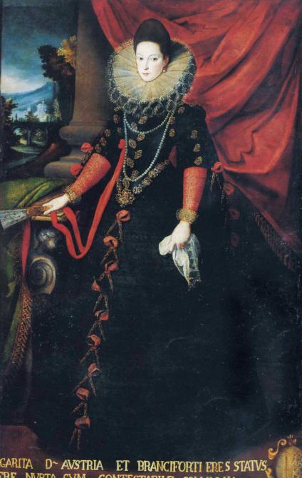 Sofonisba Anguissola - Margarita van Oostenrijk