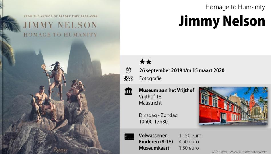 Jimmy Nelson - Museum aan het Vrijthof