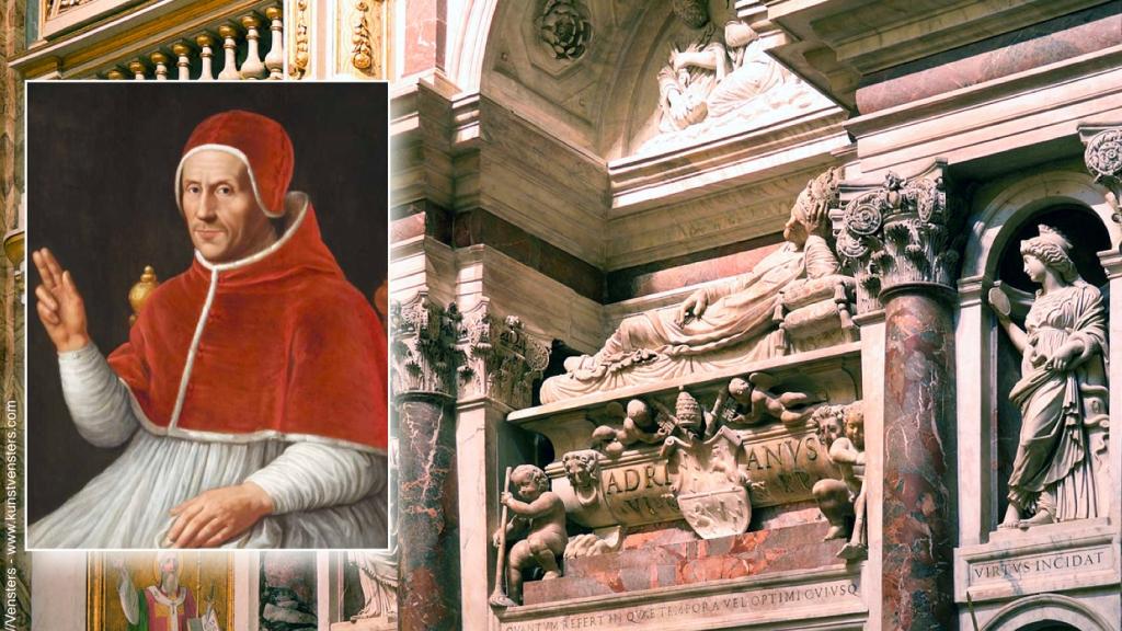 Nederlandse Paus Adrianus VI